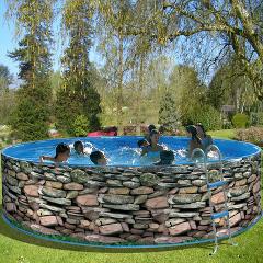 Samonosné nadzemné bazény