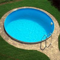 Samonosný nadzemný bazén